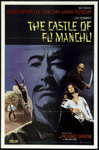 "The Castle of Fu Man Chu (MGM, 1972). International One Sheet (27"" X 41""). Horror"
