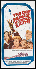 """Movie Posters:Science Fiction, The Day Mars Invaded Earth (20th Century Fox, 1963). Three Sheet (41"""" X 81""""). Science Fiction.. ..."""