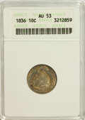 Bust Dimes: , 1836 10C AU53 ANACS. NGC Census: (5/157). PCGS Population (14/121).Mintage: 1,190,000. Numismedia Wsl. Price for NGC/PCGS ...
