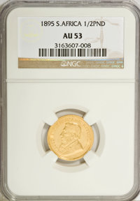 South Africa: Republic gold 1/2 Pond 1895