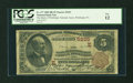 National Bank Notes:Pennsylvania, Pittsburgh, PA - $5 1882 Brown Back Fr. 477 The Bank of Pittsburgh,National Assoc Ch. # (E) 5225. ...