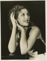 """Loretta Young by Elmer Fryer (First National, Early 1930s). Portrait (11"""" X 14"""")"""