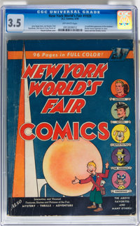 New York World's Fair Comics #1939 (DC, 1939) CGC VG- 3.5 Off-white pages