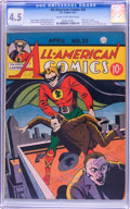Golden Age (1938-1955):Superhero, All-American Comics #25 (DC, 1941) CGC VG+ 4.5 Cream to off-white pages....