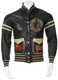 Hockey Collectibles:Uniforms, 1934 Mush March Team Jacket Presented For Winning Stanley Cup....