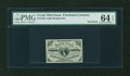 Fractional Currency:Third Issue, Fr. 1226 3c Third Issue No Pearls PMG Choice Uncirculated 64 EPQ....