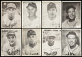 """Baseball Cards:Lots, 1940's Premium Photos Attributed to """"Bond Bread"""" Collection (18)...."""