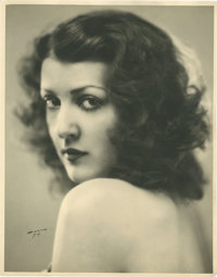 "Gypsy Rose Lee by Strand Studios (Republic Theater, 1931). Theater Portrait (11"" X 14"")"