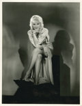 """Movie Posters:Miscellaneous, June Lang by Hal Phyfe (Fox, Early 1930s). Portrait (11"""" X 14"""")....."""