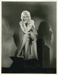 "June Lang by Hal Phyfe (Fox, Early 1930s). Portrait (11"" X 14"")"