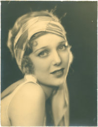 "Loretta Young by Edwin Bower Hesser (1920s). Portrait (10.25"" X 13"")"