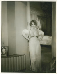 "Clara Bow in ""Her Wedding Night"" (Paramount, 1930). Full-Length Portrait (10.75"" X 14"")"