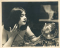 "Movie Posters:Drama, Theda Bara in ""Salome"" (Fox, 1918). Portrait Still (8"" X 10"").. ..."