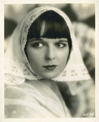 "Louise Brooks in ""Now We're in the Air"" by Eugene Robert Richee (Paramount, 1927). Portrait Still (8"" X 1..."