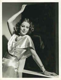 """Loretta Young in """"Midnight Mary"""" by Clarence Sinclair Bull (MGM, 1933). Portrait Still (10"""" X 13"""")..."""