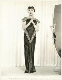 "Anna May Wong in ""Limehouse Blues"" (Paramount, 1934). Portrait Still (8"" X 10"")"