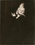 "Movie Posters:Miscellaneous, Jean Harlow by Pach Brothers Studio (MGM, 1930s). Portrait Still(7.5"" X 9.5"").. ..."