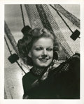 "Movie Posters:Miscellaneous, Jean Harlow by Ted Allen (MGM, 1930s). Portrait Still (8"" X 10"")....."