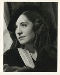 """Movie Posters:Romance, Norma Shearer in """"The Barretts of Wimpole Street"""" by Clarence Sinclair Bull (MGM, 1934). Portrait (8"""" X 10"""").. ..."""