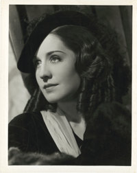 "Norma Shearer in ""The Barretts of Wimpole Street"" by Clarence Sinclair Bull (MGM, 1934). Portrait (8"" X 1..."