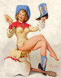 Paintings, GIL ELVGREN (American, 1914-1980). A Polished Performance, 1964. Oil on canvas. 30 x 24 in.. Signed lower left. ...