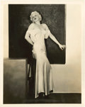 "Movie Posters:War, Jean Harlow in ""Hell's Angels"" (United Artists, 1930). PortraitStill (8"" X 10"").. ..."