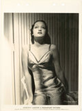 """Movie Posters:Miscellaneous, Dorothy Lamour (Columbia, 1948). Keybook Still (8"""" X 11"""").. ..."""