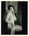 """Movie Posters:Miscellaneous, Myrna Loy by Preston Duncan (Warner Brothers, 1920s). PortraitStill (8"""" X 10"""").. ..."""
