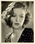 "Movie Posters:Crime, Loretta Young in ""Taxi"" by Elmer Fryer (Warner Brothers, 1932).Portrait (8"" X 10"").. ..."