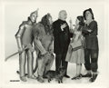 """Movie Posters:Fantasy, The Cast of """"The Wizard of Oz"""" (MGM, 1939). Still (8"""" X 10"""").. ..."""