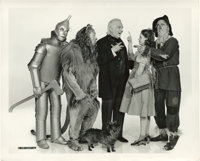 "The Cast of ""The Wizard of Oz"" (MGM, 1939). Still (8"" X 10"")"