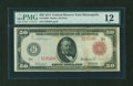 Large Size:Federal Reserve Notes, Fr. 1020b $50 1914 Red Seal Federal Reserve Note PMG Fine 12....