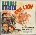 "Movie Posters:Western, Gun Law (RKO, 1938). Six Sheet (81"" X 81""). Western.. ..."