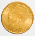 Luxembourg, Luxembourg: Grand Duchy gold Medallic 20 Francs 1953 - Pair,...(Total: 2 coins)