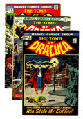 Bronze Age (1970-1979):Horror, Tomb of Dracula Group (Marvel, 1972-74) Condition: Average VF+....(Total: 7 Comic Books)