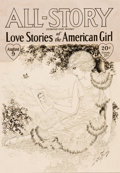 Mainstream Illustration, DOROTHY FLACK (American, 20th Century). Story illustration forAll-Story and Love Stories of the American Girl. Pen and ...