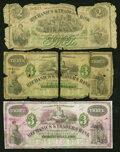 Obsoletes By State:Louisiana, New Orleans, LA- Mechanics & Traders Bank Certificates of Deposit. Three Examples.. ... (Total: 3 notes)