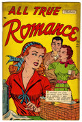 "Golden Age (1938-1955):Romance, All True Romance #7 Davis Crippen (""D"" Copy) pedigree (Comic Media,1952) Condition: FN...."