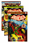 Bronze Age (1970-1979):Horror, Tomb of Dracula Group (Marvel, 1973-75) Condition: Average NM-....(Total: 8 Comic Books)