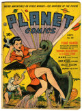 Golden Age (1938-1955):Science Fiction, Planet Comics #20 (Fiction House, 1942) Condition: VG....
