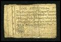 Colonial Notes:North Carolina, North Carolina December, 1771 1s Fine....