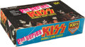 """Non-Sport Cards:Unopened Packs/Display Boxes, 1978 Donruss """"Kiss-Series 2"""" Unopened 15-Cent Wax Box. ..."""