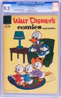 Silver Age (1956-1969):Classics Illustrated, Walt Disney's Comics and Stories #221 File Copy (Dell, 1959) CGCNM- 9.2 Off-white pages....