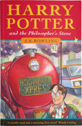 Books:Signed Editions, J. K. Rowling. Harry Potter and the Philosopher's Stone.[London]: Bloomsbury, [1997].. First edition signed on ...