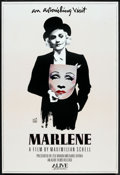 "Movie Posters:Documentary, Marlene (Alive Films, 1986). One Sheet (27"" X 41""). Documentary.. ..."