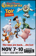 "Movie Posters:Animated, Toy Story: Disney's World on Ice (Buena Vista, 1995). One Sheet(27"" X 40"") SS. Animated.. ..."