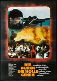 """The Deer Hunter Lot (Universal, 1979). German A1s (2) (23"""" X 33"""") Style A. Drama. ... (Total: 2 Items)"""
