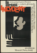 "Movie Posters:Crime, The Incident (CWF, 1970). Polish One Sheet (22.75"" X 32.5"").Crime.. ..."