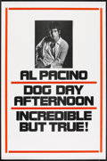 "Movie Posters:Action, Dog Day Afternoon (Warner Brothers, 1975). Advance One Sheet (27"" X41""). Action.. ..."