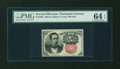 Fractional Currency:Fifth Issue, Fr. 1265 10¢ Fifth Issue PMG Choice Uncirculated 64 EPQ....